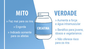 CREATINA - MITOS E VERDADES