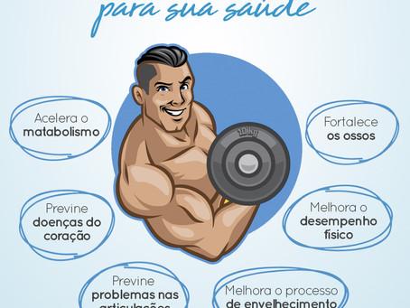 Impactos da massa magra para sua saúde.