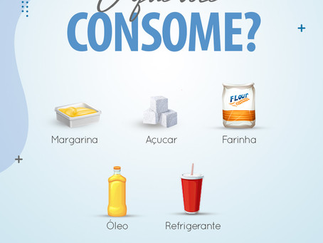 O que você consome?