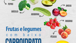 Frutas e Legumes com baixo carboidrato