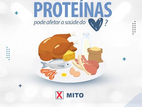 O consumo elevado de Proteínas pode afetar a saúde do coração?