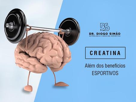CREATINA ALÉM DOS BENEFÍCIOS ESPORTIVOS