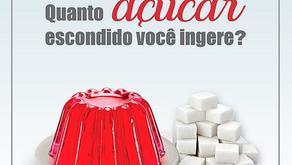 Quanto de açúcar escondido você ingere?
