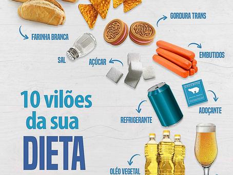 10 Vilões da sua Dieta
