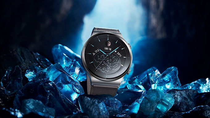 The high-end HUAWEI WATCH GT 2 Pro with its premium design doesn't shy away from powerful technology