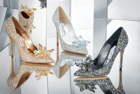 Bride's shoes are very important ...