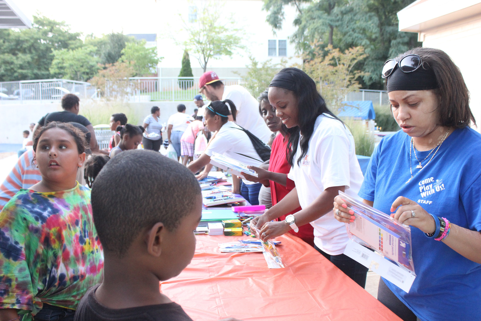 School Supply Drive/Cookout