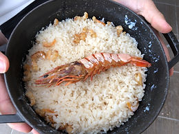 芦北地方に伝わる漁師飯「えび飯」