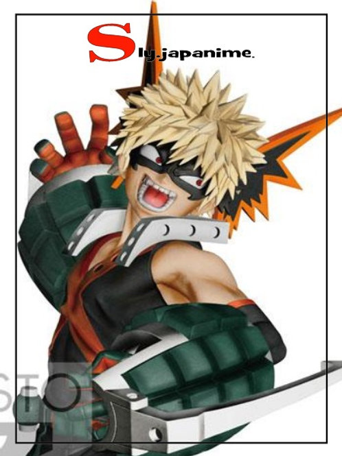 KATSUKI BAKUGOU - THE AMAZING HEROES