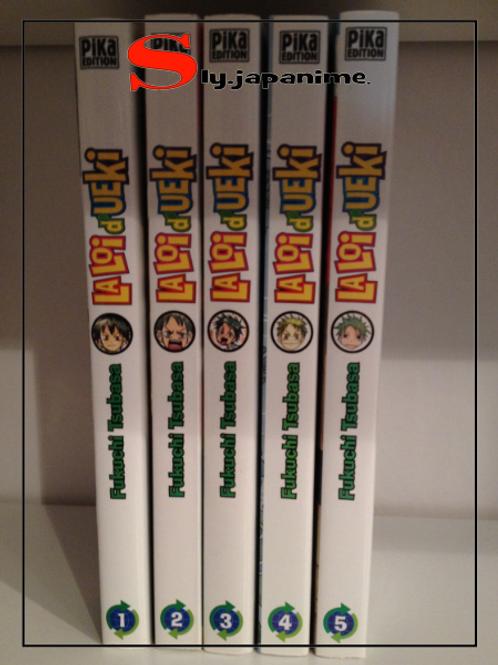 LA LOI D'UEKI Volume 1 à 5