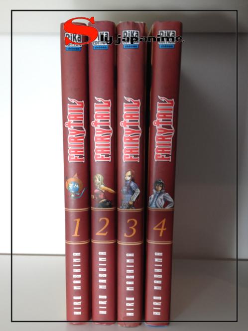 FAIRY TAIL - Volume 1 à 4