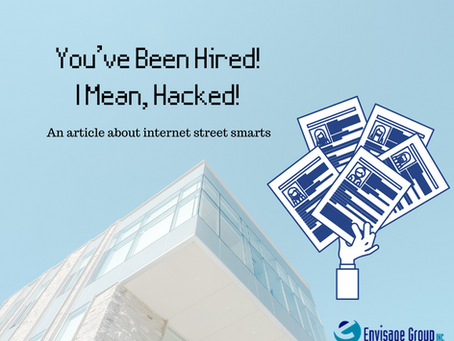 You've Been Hired! I Mean, Hacked!