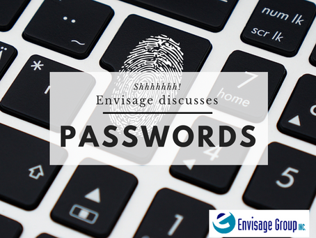 Envisage Discusses Passwords
