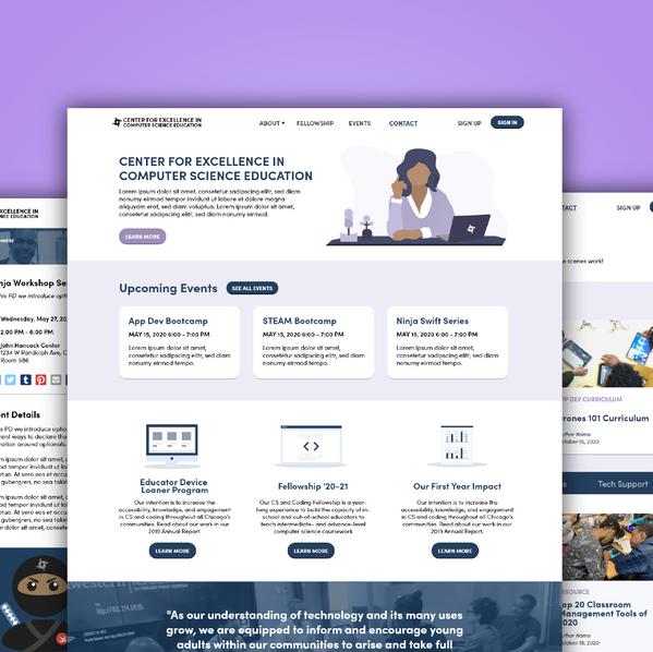CECSE Website Redesign