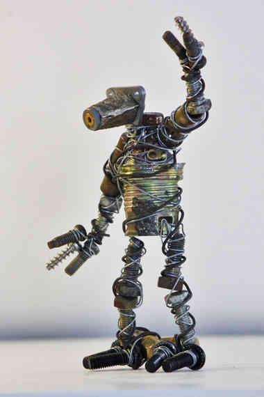 Hello: robot recyclé