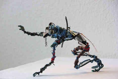 Wire Max: créature en récup