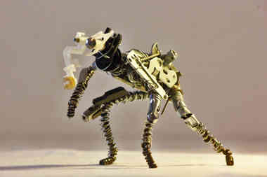 Tapirus: animal en métaux de récup