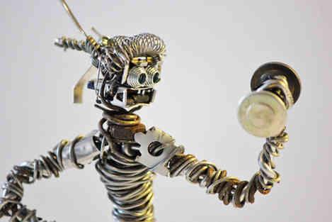 La séance: robot en récup en séance de musculation