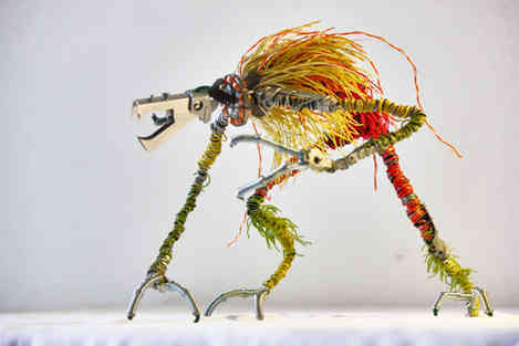 Wild Wire: créatures en matériaux de récup