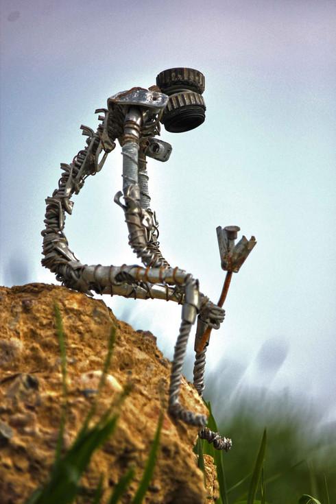 robot melancolique et romantique