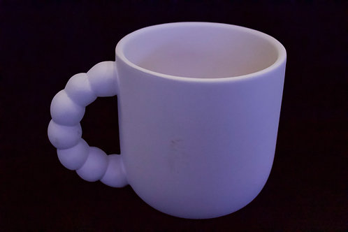 Beaded Handle Mug
