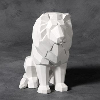 Faceted Lion