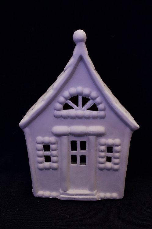 "Small ""Gingerbread"" Lantern/Fairy House"