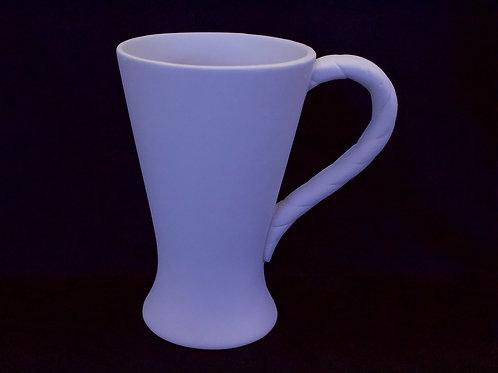 Swirl Handle Mug