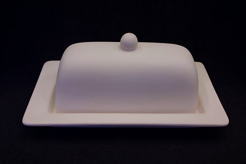 "Butter Dish ""Rimmed"""