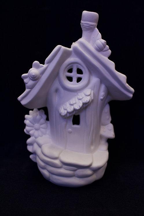 "Medium ""Slanted Door"" Fairy House"