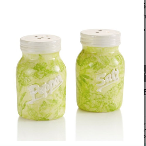 Mason Jar S&P Shakers