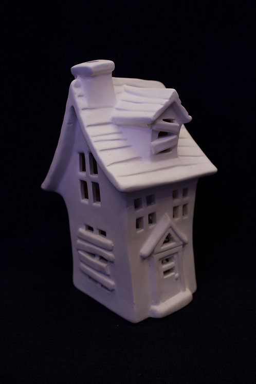 "Mini ""Haunted House"" Lantern/Fairy House"