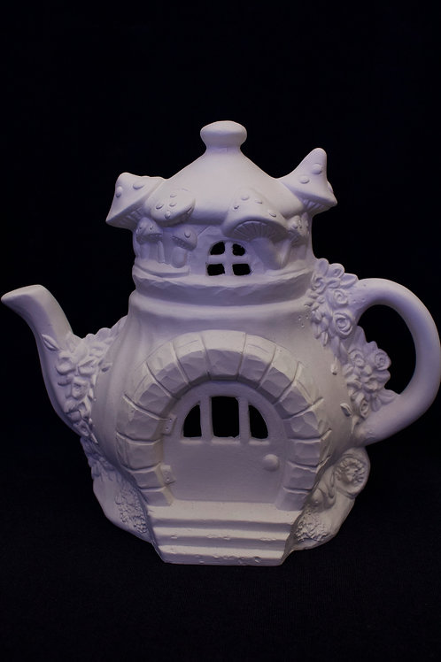 "Large ""Teapot"" Fairy House"