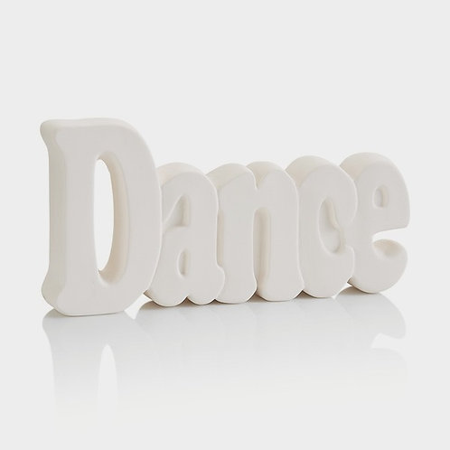DANCE Word Plaque