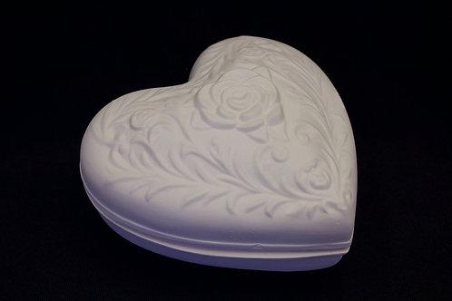 Floral Heart Box
