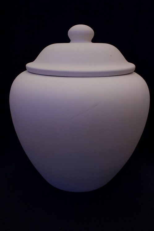 Lidded Cookie Jar (large)