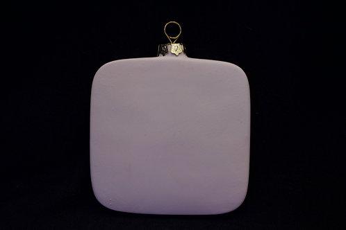 Square Ornaprint Ornament