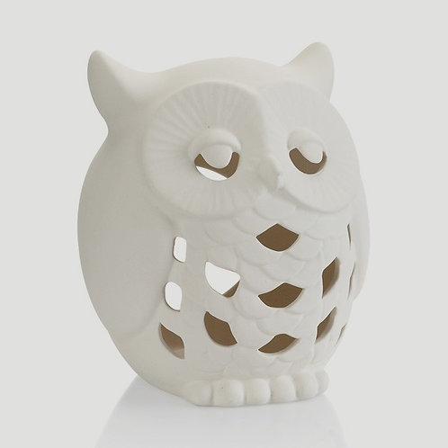 Owl Lantern 6.25H