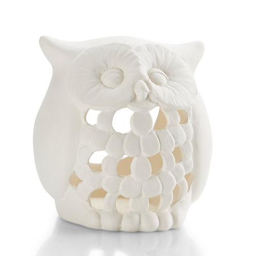"""Owl Lantern 4""""H"""
