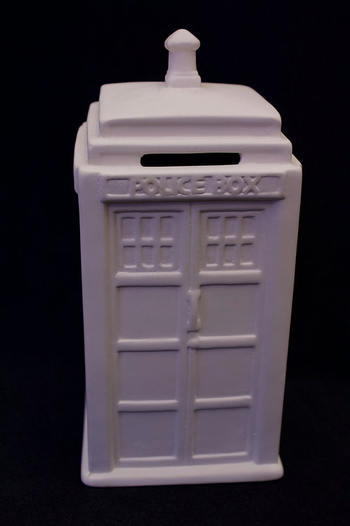 T.A.R.D.I.S. Police Box Bank