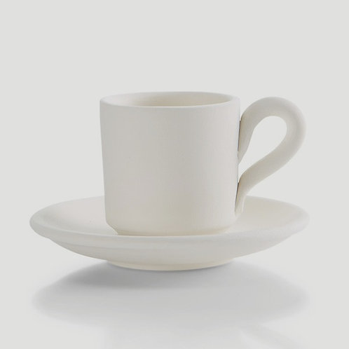 Espresso Cup with Saucer