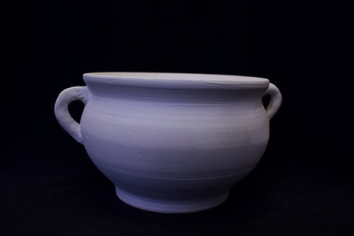 Hand-Thrown Incense Bowl with Handles