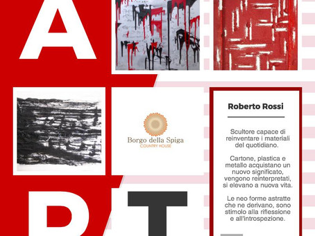 Roberto Rossi exhibits here in the months of March and April