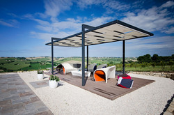 Outdoor relax area