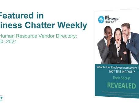 As Featured in Business Chatter Weekly