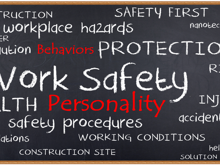 Does Employee Personality Affect Workplace Safety?