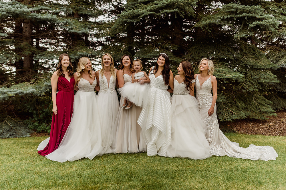 JLM Couture, Hayley Paige, Blush by Hayley Paige, Ti Adora, Allison Webb, Lazaro, Tara Keely, Alvina Valenta, wedding dress