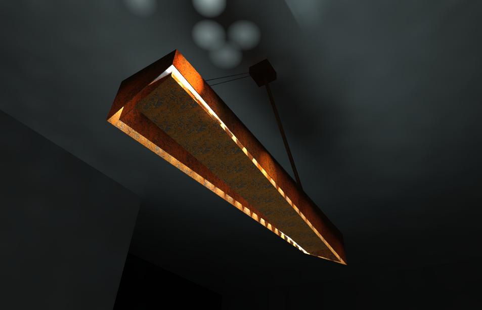 Luminaire CORTEN