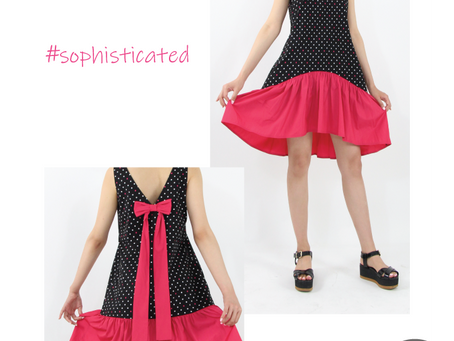 Unexpected Color Trends to Love For This Fall: Black & Hot Pink Ensembles