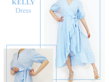 Effortlessly Chic in This Timeless Wrap Dresses